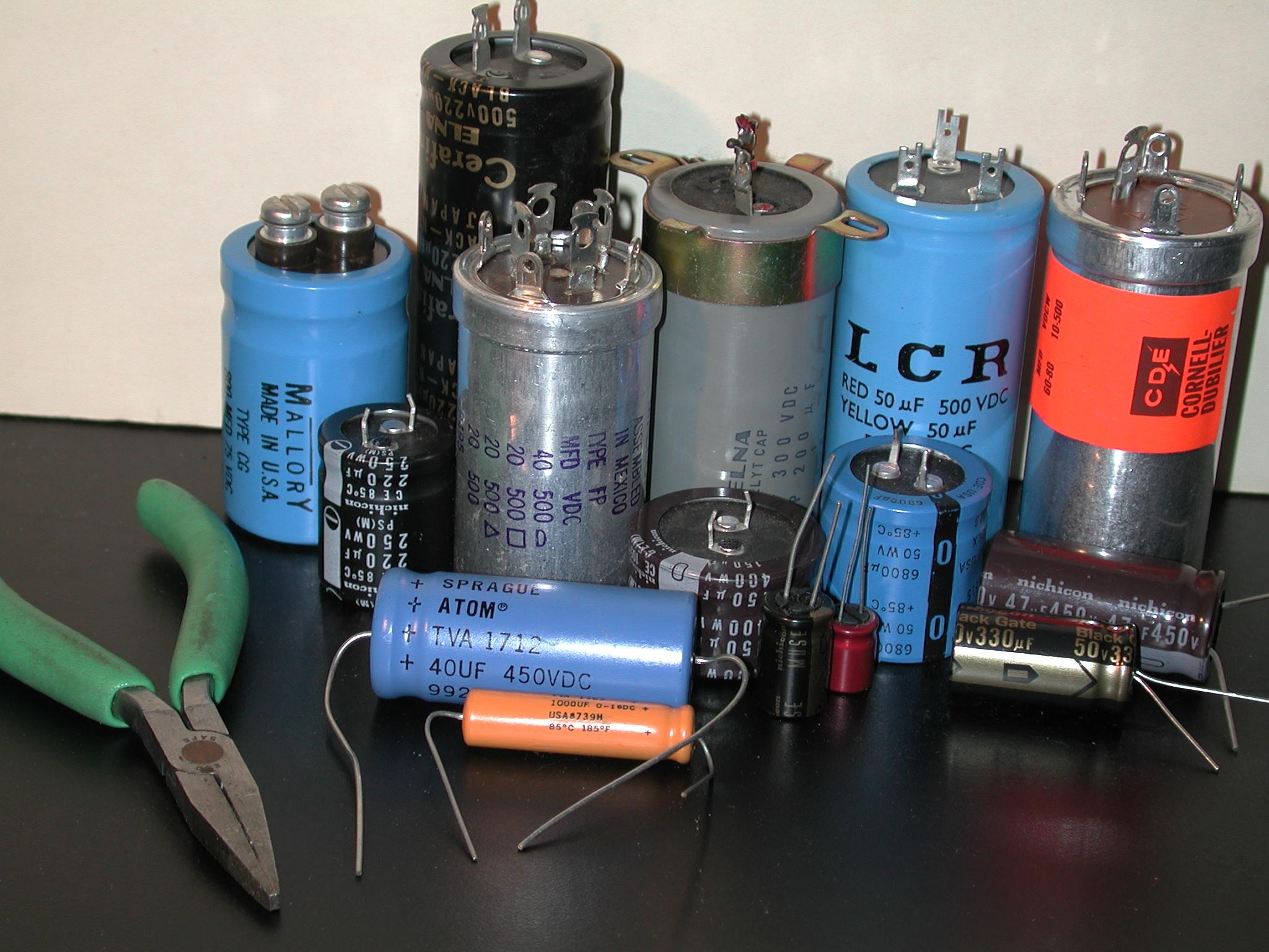 Rap On Replacing Electrolytic Capacitors